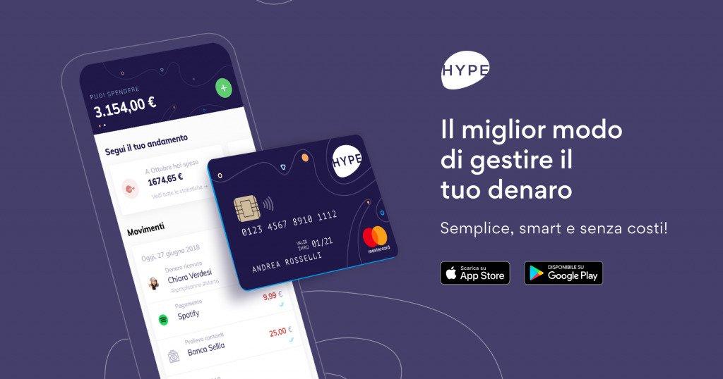 Carta Hype Premium